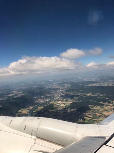 Aussicht über Zürich.